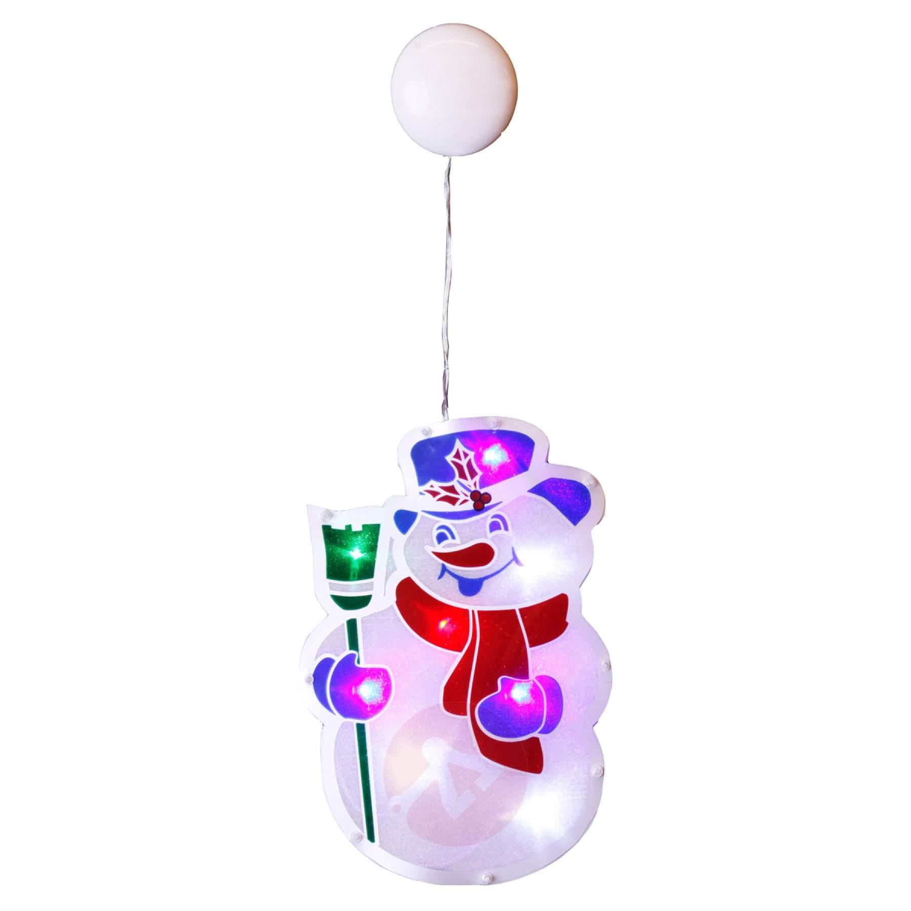 1800x1800 Window Silhouette Snowman With Led Illumination Lights.ie