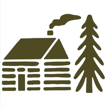 375x373 Cabin Silhouette Clipart Collection