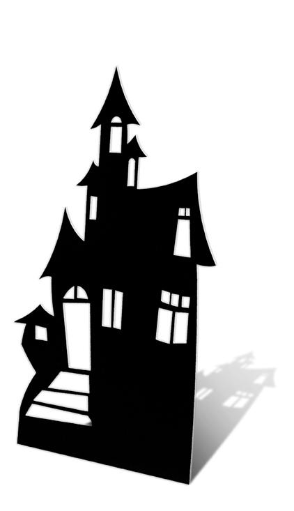 422x733 Halloween Tree Window Silhouettes. Door Free Vector Download (228