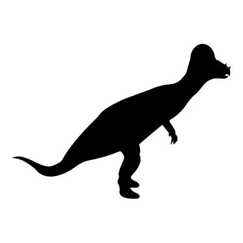 500x500 Dinosaur Silhouette