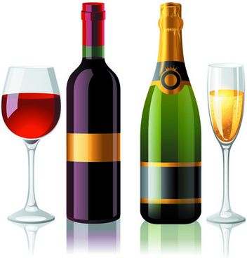352x368 Wine Bottle Glass Silhouette Free Vector Download (8,817 Free
