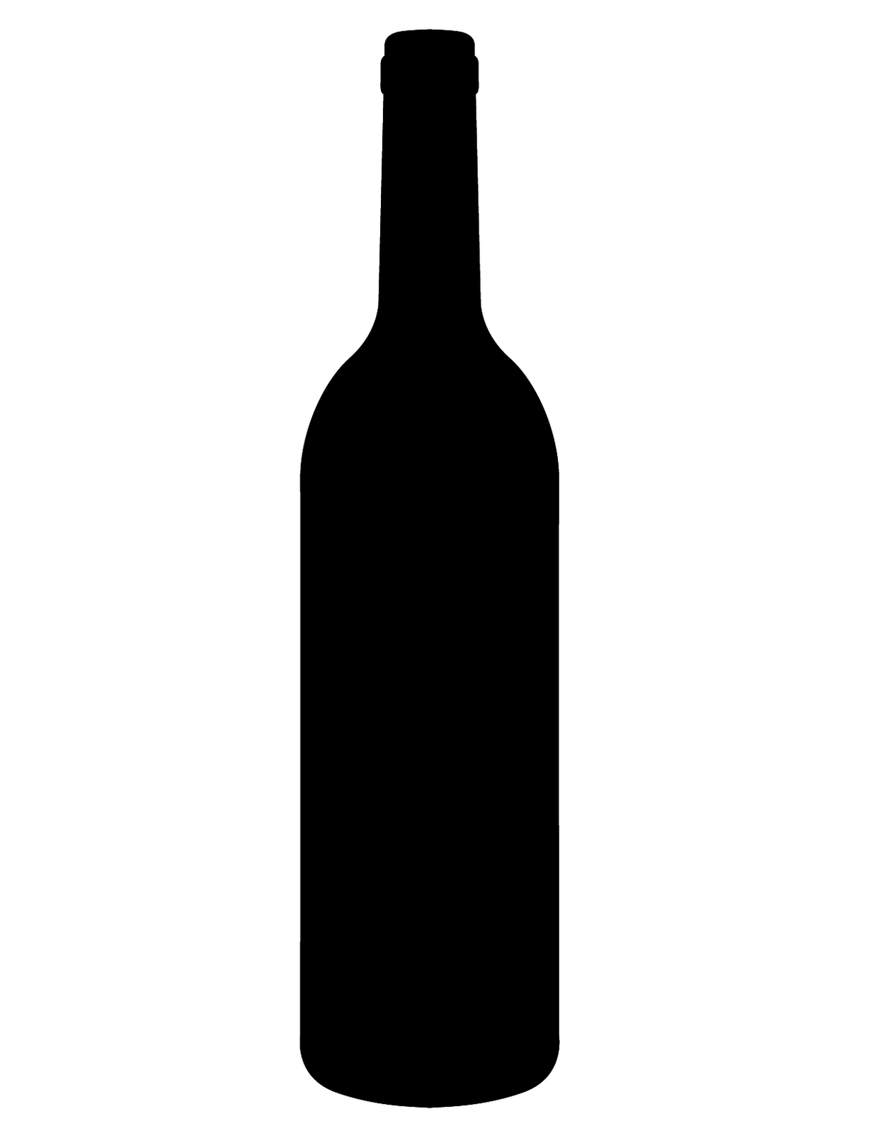 1236x1600 Wine Bottle Silhouette This Is The Silhouette Of A Wine Bottle