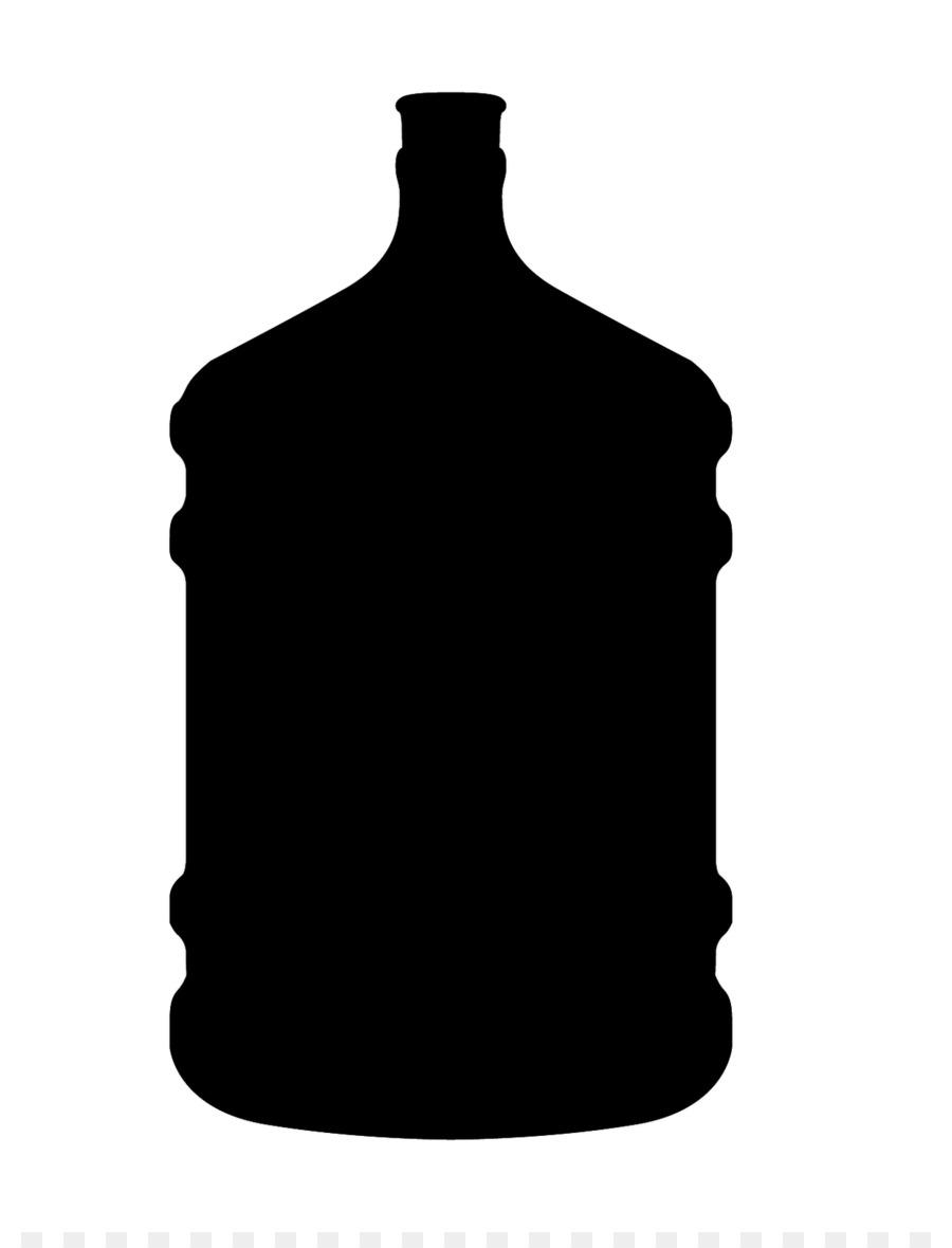 900x1180 Water Bottle Silhouette Clip Art