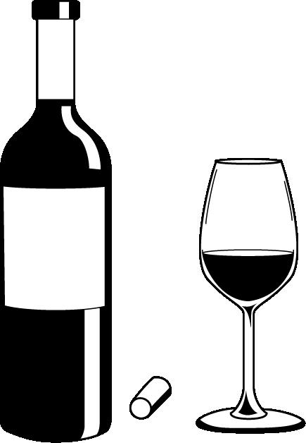 435x628 Clipart Wine Bottle