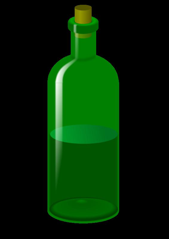 566x800 Free Wine Bottle Clipart Image