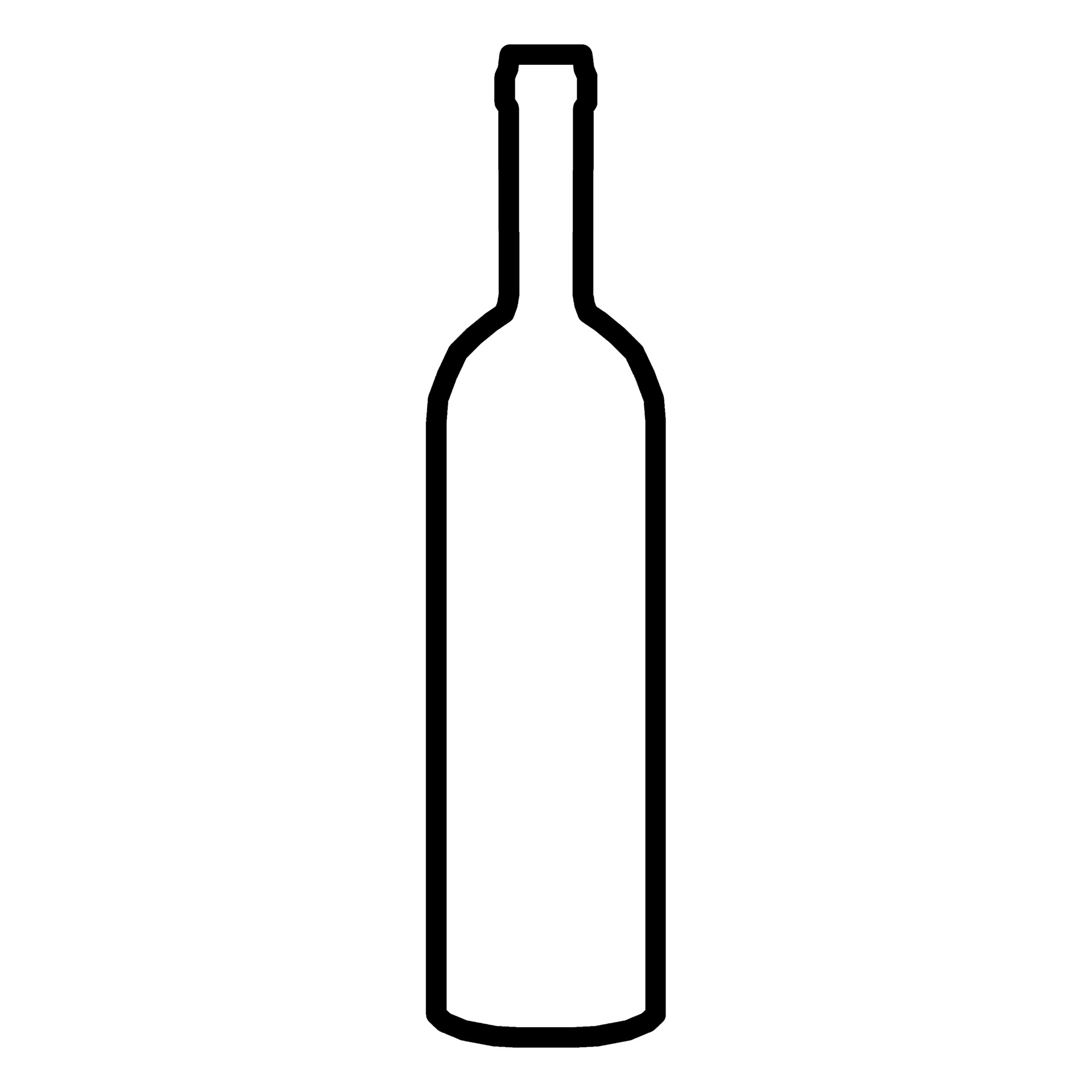 wine bottle silhouette vector at getdrawings com free for personal rh getdrawings com wine bottle vector silhouette wine bottle vector png