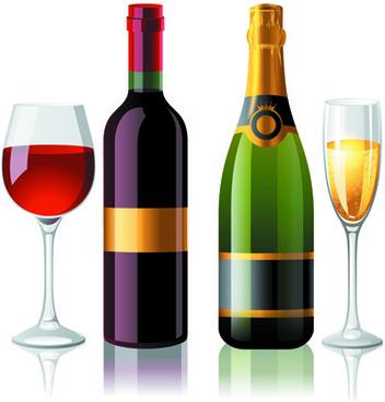 352x368 Wine Bottle Free Vector Download (1,689 Free Vector)