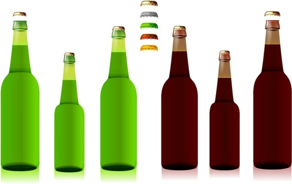 584x368 Bottle Free Vector Download (1,147 Free Vector) For Commercial Use