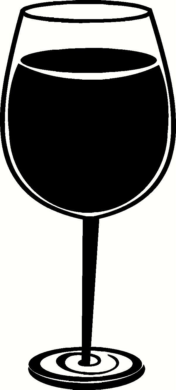 600x1327 Wine Glass Stickers Wine Glass Vinyl Decal Kitchen Vinyl
