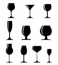240x268 Cocktail Glass Vectors Stock For Free Download About (70) Vectors