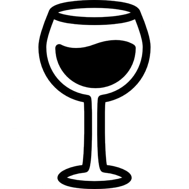 626x626 Red Wine Glass Icons Free Download