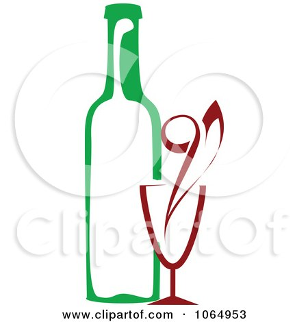 450x470 Clipart Of A Seamless Background Pattern Of Wine Glasses