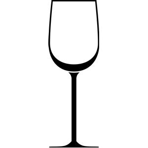 300x300 White Wine Glass Clipart, Cliparts Of White Wine Glass Free