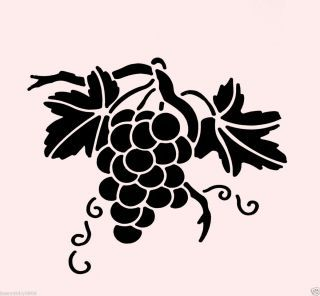 320x296 Crafting Stencils Grapes Stencil Grape Stencils Fruit Craft