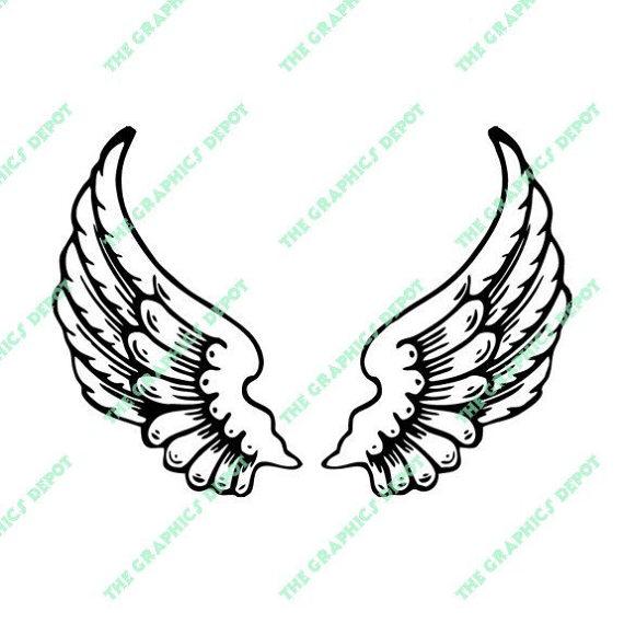570x570 Angel Wings