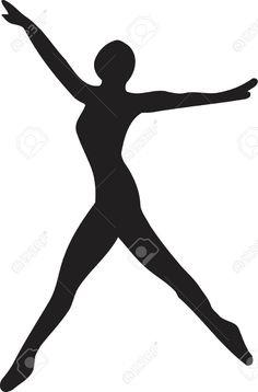 236x358 Female Silhouette Clipart Sports Winner