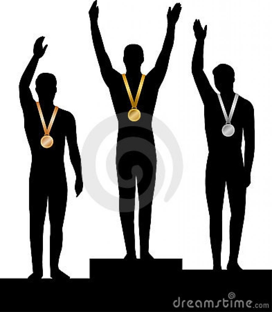 894x1024 Gold Medal Winner Clipart Commercial Use Medal Stock Illustrations