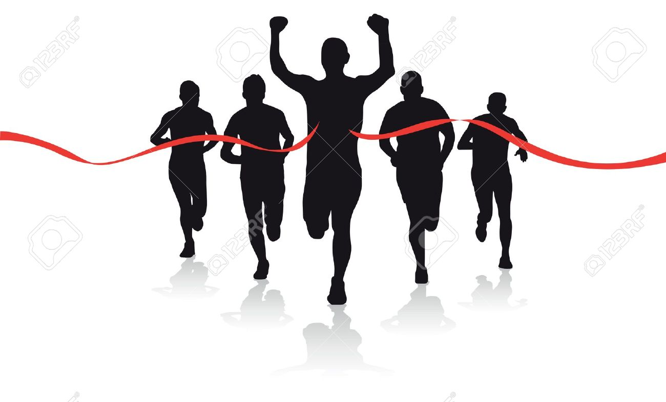 1300x785 Running Finish Line Clipart