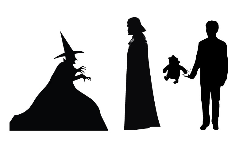 792x462 Monster Silhouettes