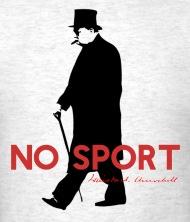 190x222 Winston Churchill, No Sport Design By Artformatxxi Spreadshirt