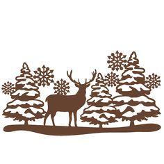 236x236 Freebie Of The Day! Winter Scene Borders Set Modelsku