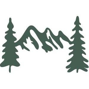300x300 Mountain And Trees Clipart Collection