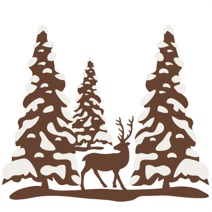 Bare Christmas Tree Svg.Winter Tree Silhouette At Getdrawings Com Free For