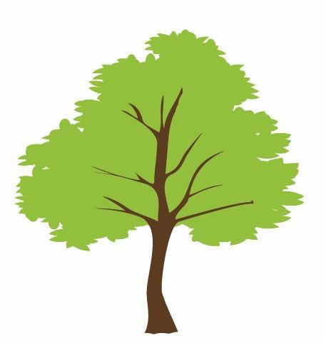 457x482 Free Tree Graphics, Hanslodge Clip Art Collection