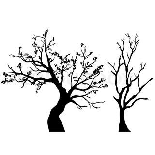 320x320 Tree Silhouette Stock Vector Colourbox