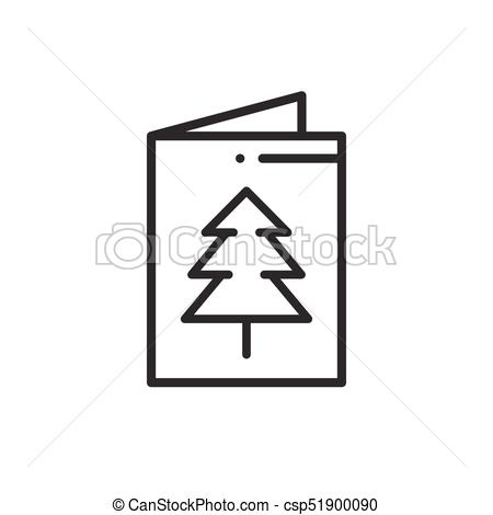 450x470 Christmas Card Icon. New Year Celebration Decorated Eps Vectors
