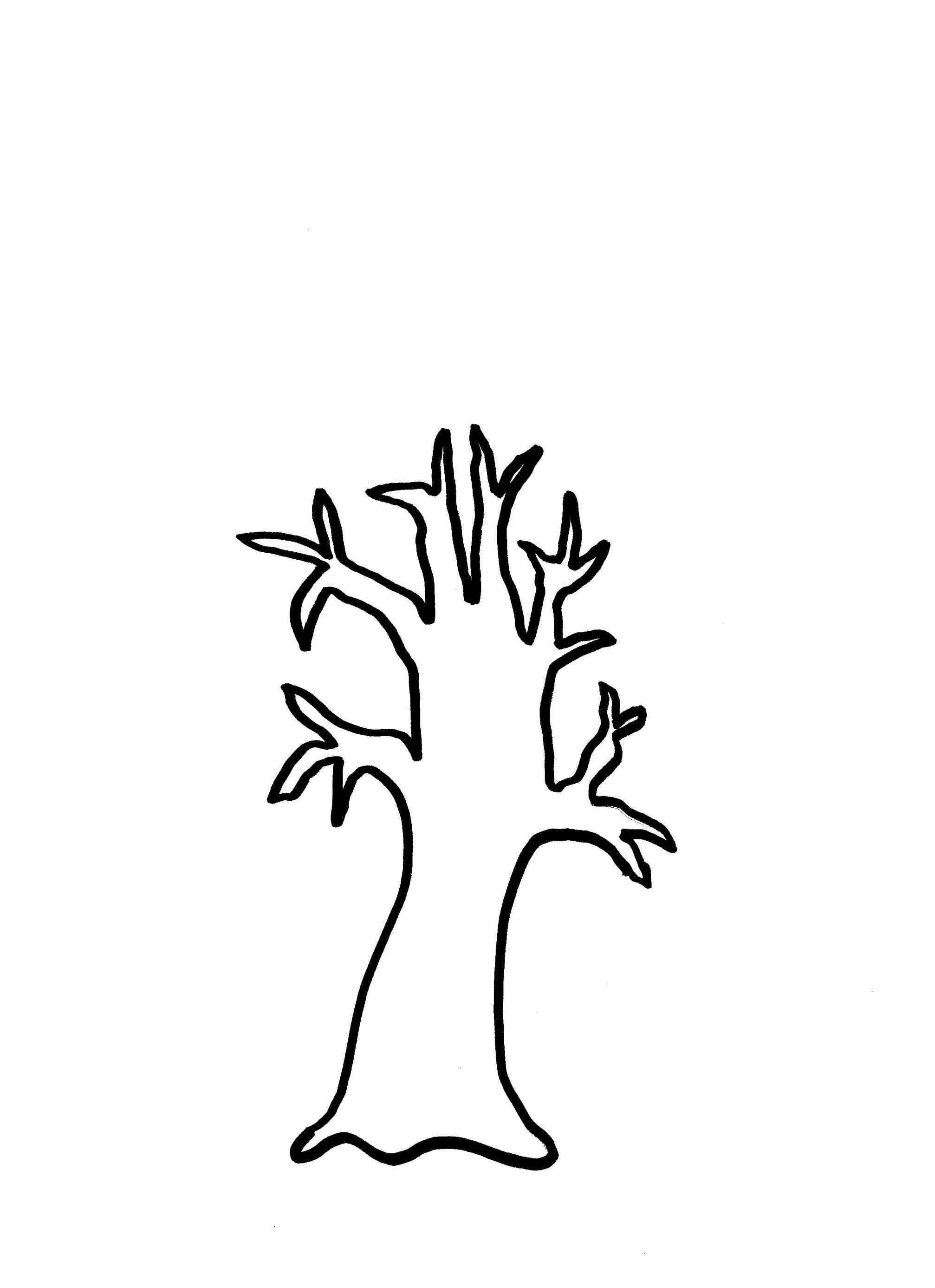 2014x2773 Clip Art Winter Trees Clip Art