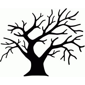 300x300 Silhouette Design Store Winter Tree Family Tree