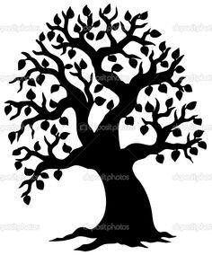 236x284 Tree Of Life Silhouette Clip Art