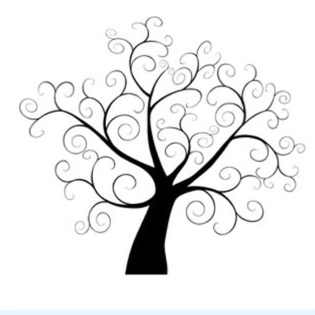 640x640 Guest Book Tree, What Ppl Write Will Look Like The Leaves If My