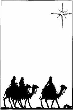 236x354 Christmas Nativity Silhouette Clip Art For Commercial Use