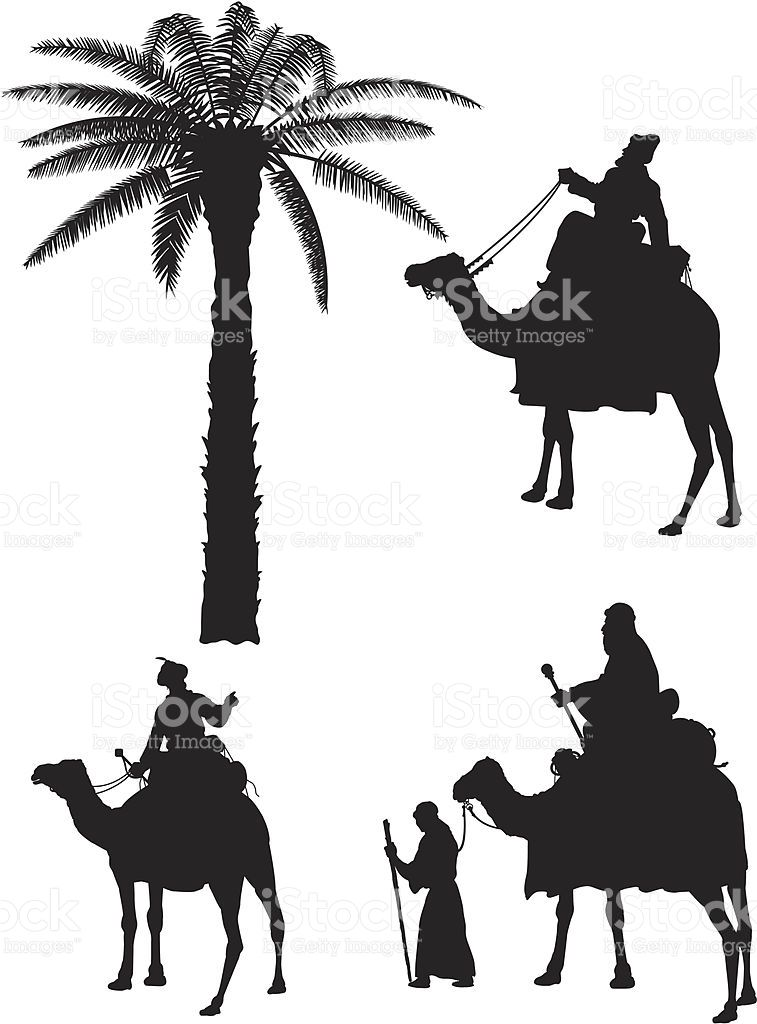 757x1024 Three Kings Silhouettes Vector Id165693739 Primary