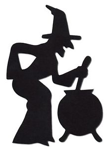 Witch Cauldron Silhouette