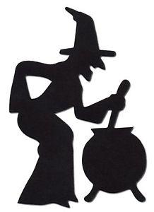 218x300 15 Die Cut Witch