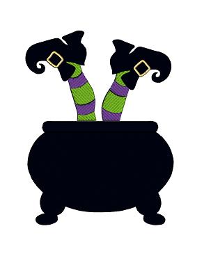 303x368 Witch's Cauldron Designs By The Stitch