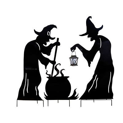 400x400 Witch Cauldron Silhouette Bigking Keywords And Pictures