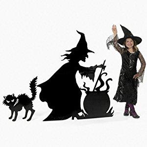 300x300 Halloween Creepy Witch With Halloween Witch Cauldron