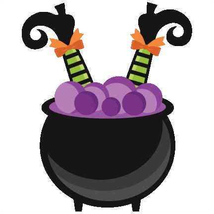 432x432 Witch In Cauldron Svg Scrapbook Cut File Cute Clipart Files