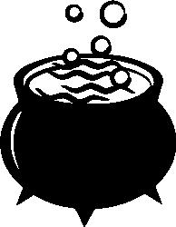 194x250 Cauldron Silhouette Cricket Ideas Cauldron