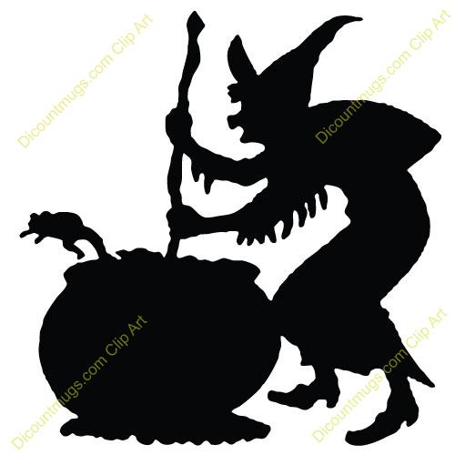 500x500 Clipart 11593 Witch Cauldron