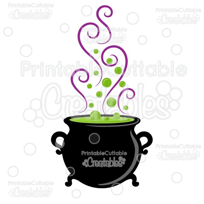 650x650 Halloween Witch Cauldron Svg Cut File Amp Clipart