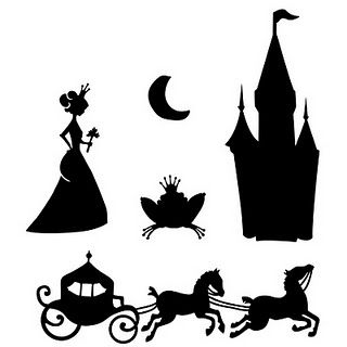 320x320 Princess Silhouettes Design Freebies! Princess
