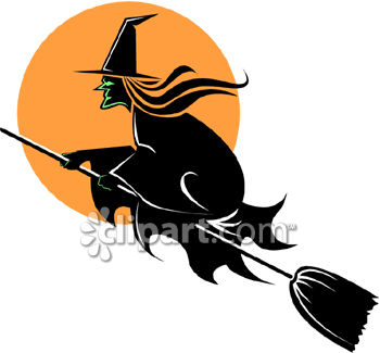350x325 Witch Hat Clipart Witch Broomstick