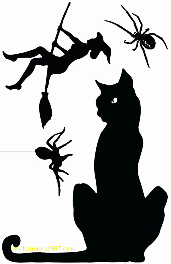 570x881 Top Result Lovely Black Cat Templates For Halloween Gallery 2017