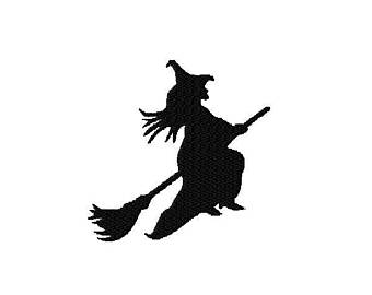 340x270 Witch Silhouette Etsy