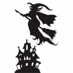 236x236 Halloween Window Silhouettes Template Complete Vision Stunning